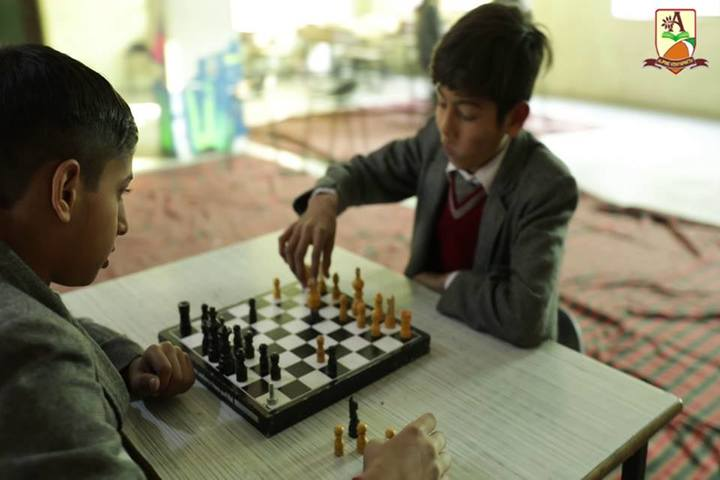 Alphine Vidyapeeth - Chess Competition