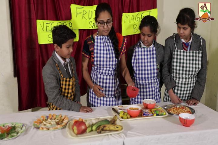 Alphine Vidyapeeth - Cooking Activity