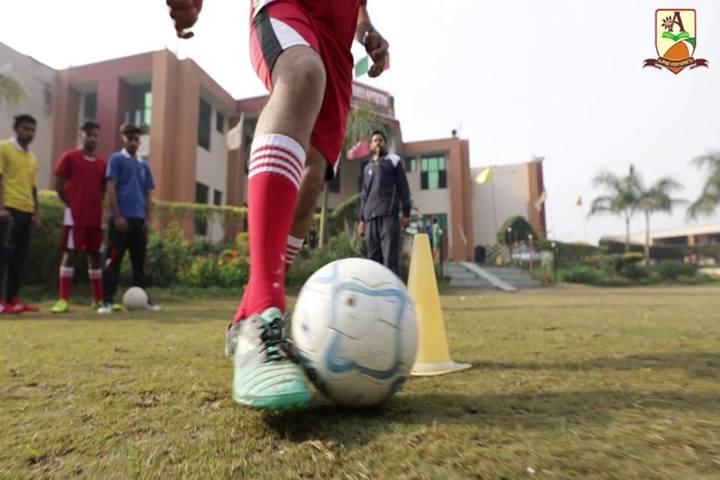 Alphine Vidyapeeth - Foot Ball Activity
