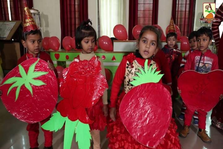 Alphine Vidyapeeth - Red Day