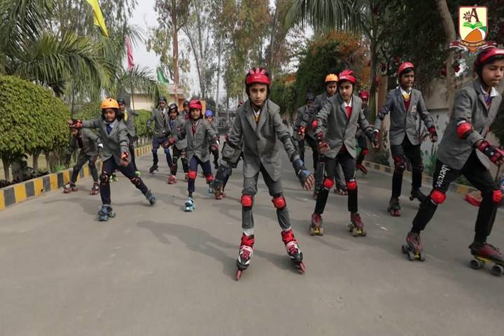 Alphine Vidyapeeth - Skating Activity