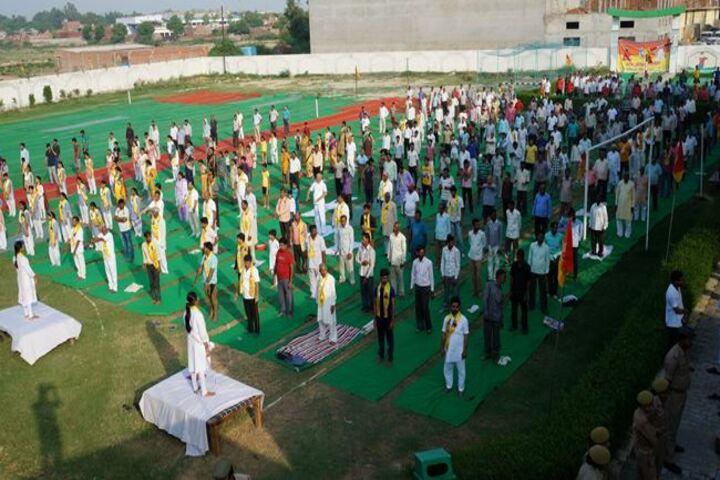 Aman International School - International Yoga Day