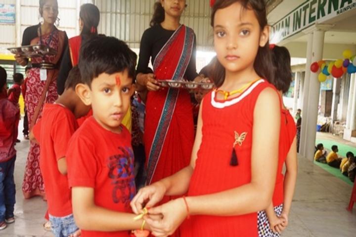 Aman International School - Rakhi Celebrations