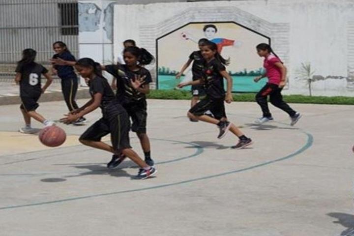 Aman International School-Basket Ball Court