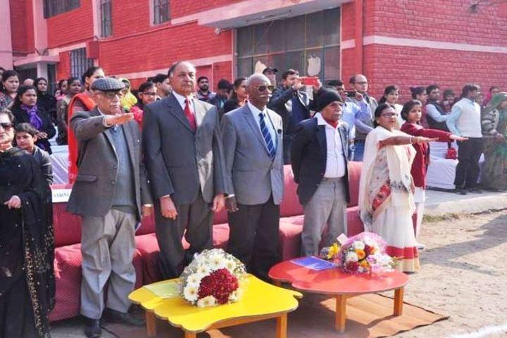 Amar Public School-A Pledge On Republic  Day