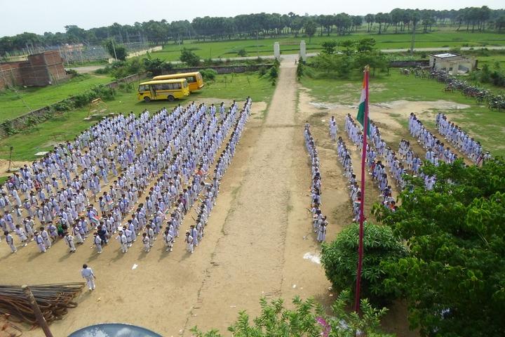 Sabarmati Gyan Niketan-Morning Assembly