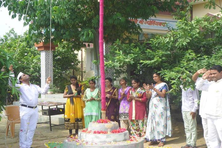 Sabarmati Gyan Niketan-Flag Hosting