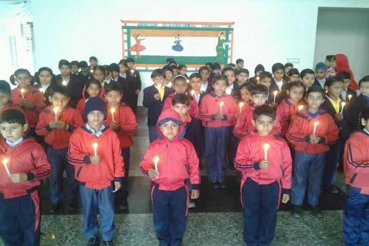 Ambition International School-Candle light Rally