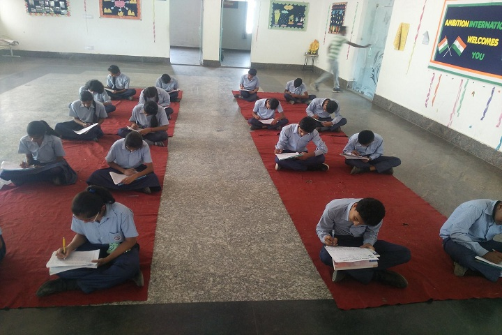 Ambition International School-Essay Writtting