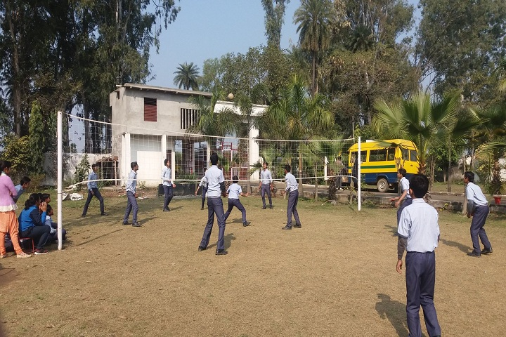 Ambition International School-Volley Ball Court