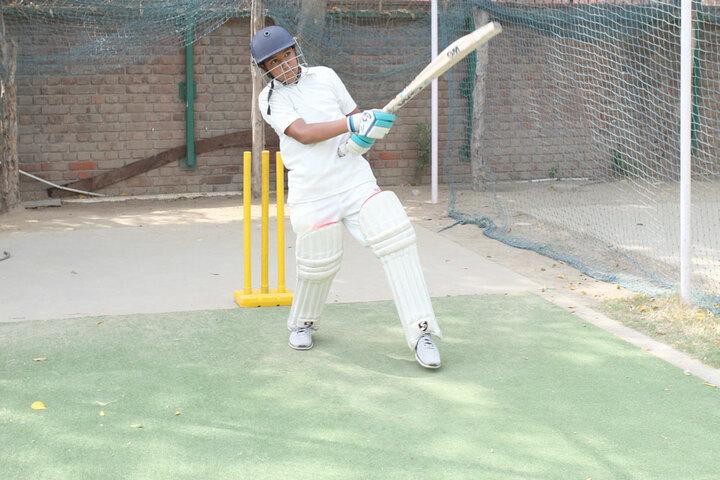 Amity International School-Cricket