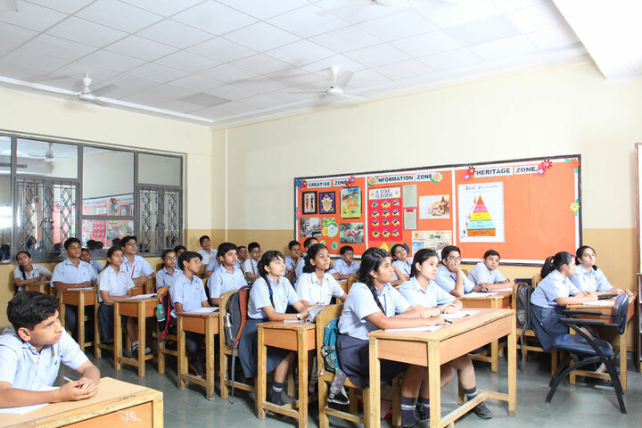 Amity International School-Middle School classrooms
