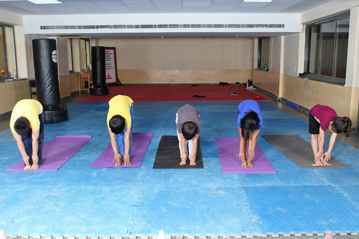 Amity International School - Yoga room