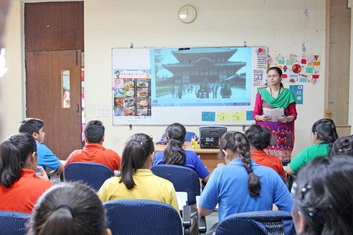 Amity International School - language Room