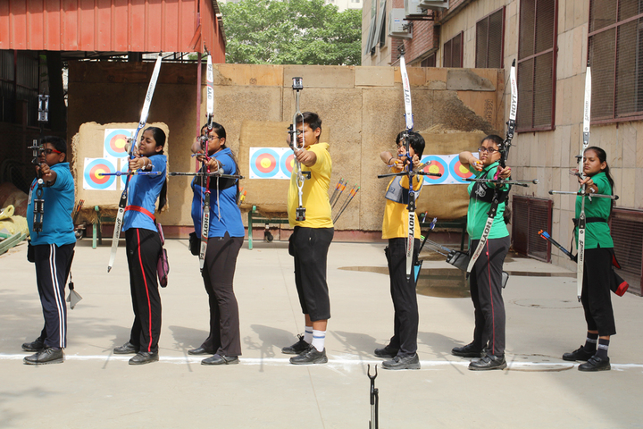 Amity International School - Archery