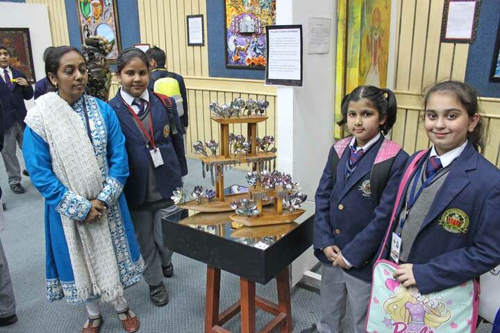 Amity International School - Science Exhibhition