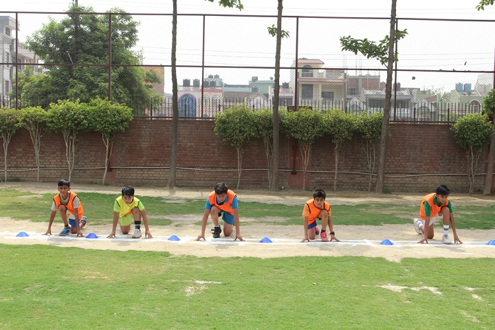 Amity International School -Running Activity