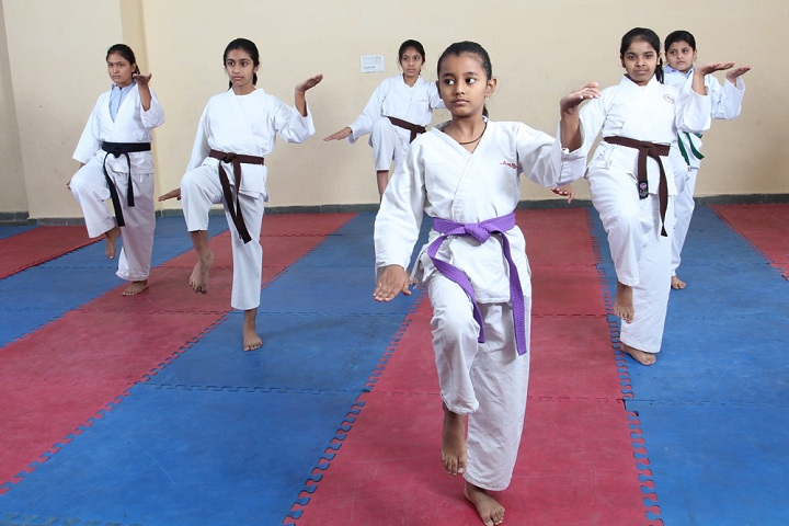 Amity International School -Taekwondo Activity