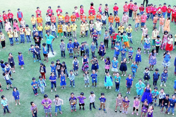 Amity International School - Colours Day