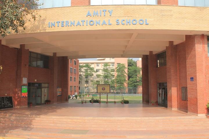 Amity International School - School Entrance