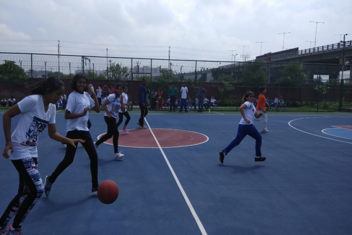 Amity International School- Basket Ball Court