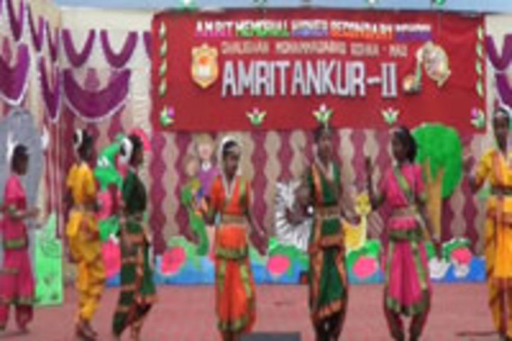 Amrit Memorial Higher Secondary School-  Cultural Dance