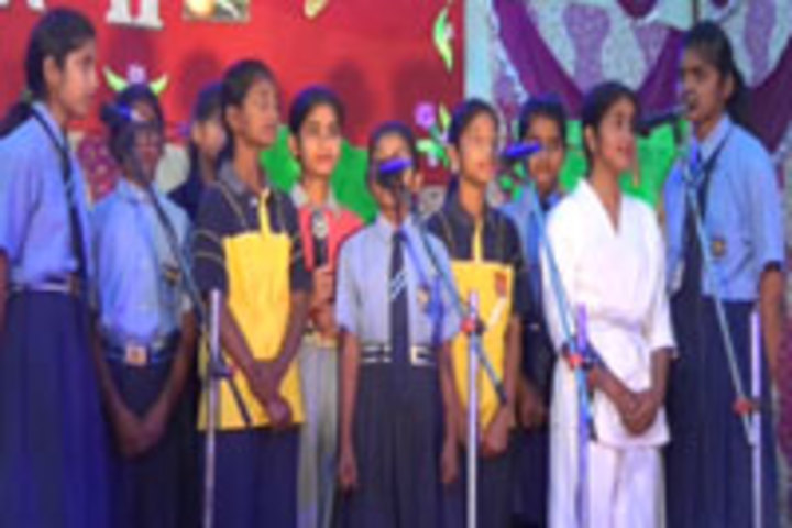 Amrit Memorial Higher Secondary School-  Singing Event