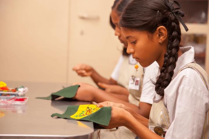 Udayachal Schools-Handicraft Room