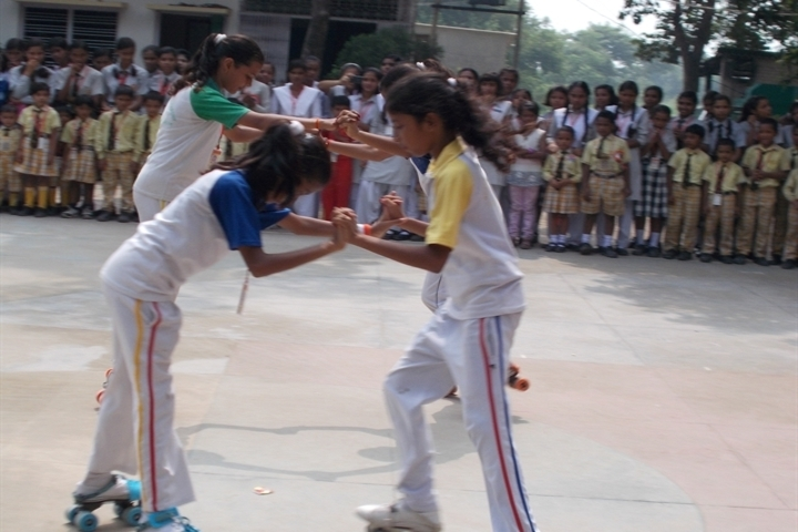 Anand Memorial Academy - Skating Activity