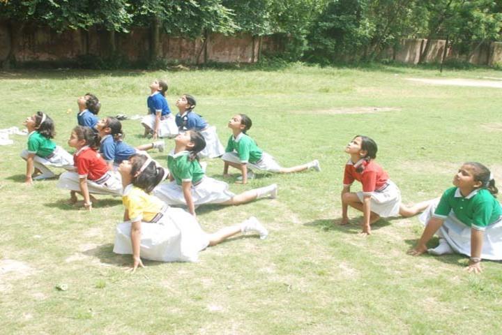 Angels Public International School-Yoga