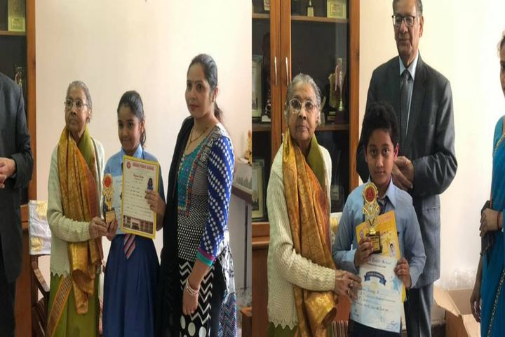 Angels Public International School-Prize Distribution