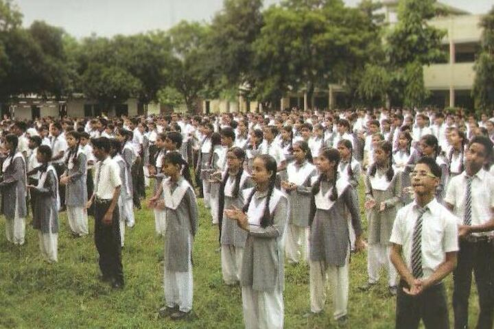 Anglo Vedic Convent School - Morning Assembly