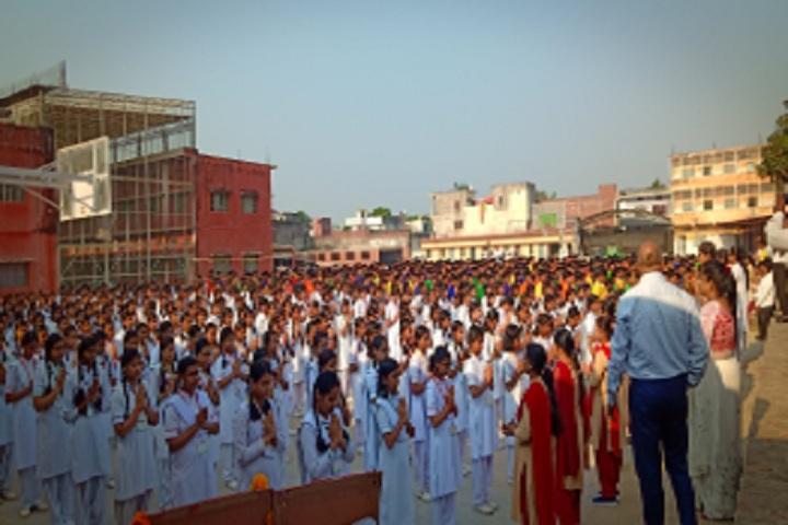 Anil Saraswati Vidhya Mandir Higher Secondary School-Morning Assembly