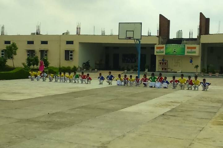Ankur Public School-Basketball Court