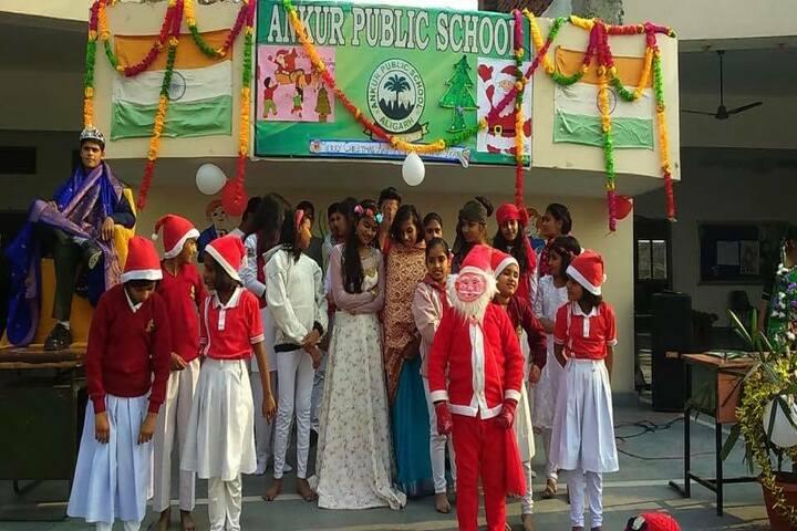 Ankur Public School-Christmas Day Celebration