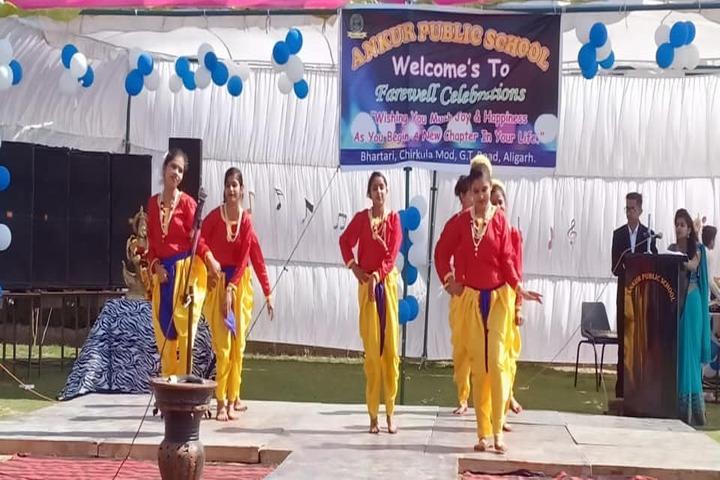Ankur Public School-Farewell Day Celebration