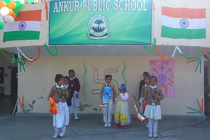 Ankur Public School-Independence Day Celebration