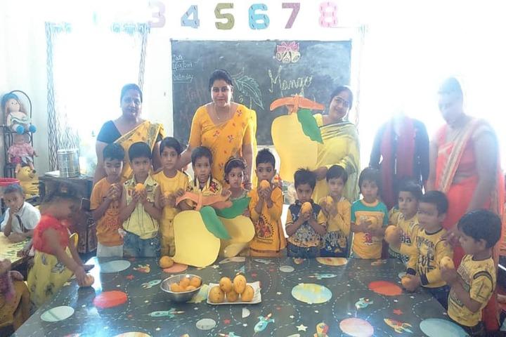 Ankur Public School-Mango Day Celebration