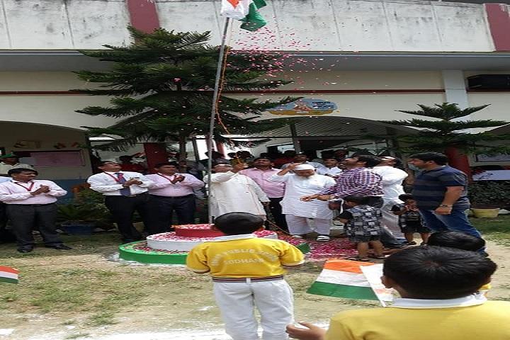 Anwar Public School-Flag Hoisting