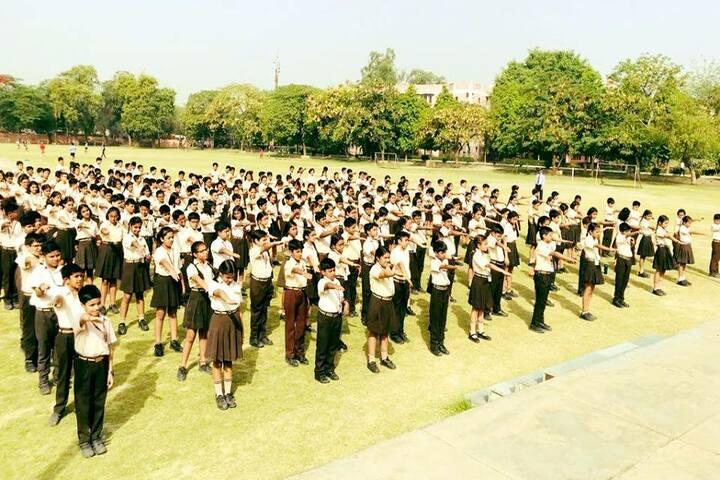 Apeejay School-Assembly