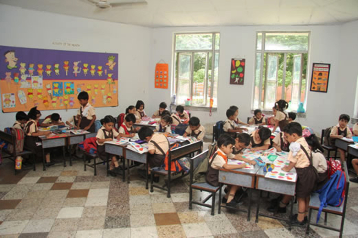 Apeejay School-Pre-Primary-Classroom