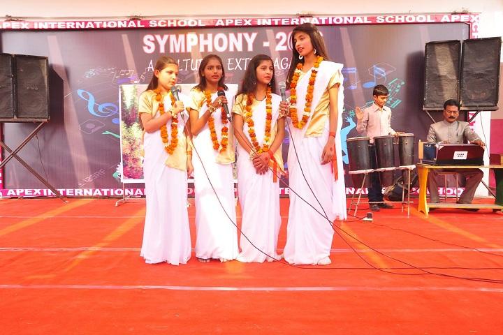 Apex International School-Music Competition
