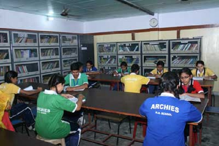 Archies Higher Secondary School-Library 1