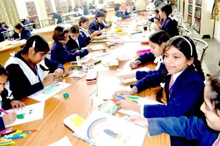 Army Public School-Drawing Activity