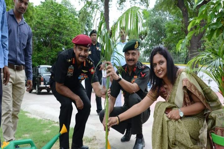 Army Public School-Tree Planitation