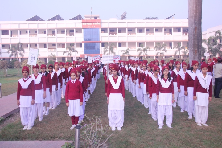 Sadhana Devi Vidyapith-Morning Assembly