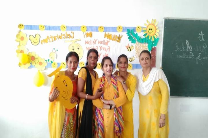Arunodaya Public School-Yellow Day