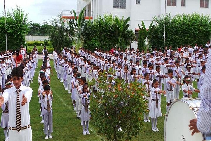 Arvind Academy-Morning Assembly