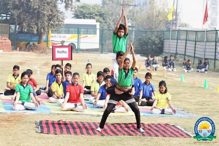 Arwachin International School-Yoga