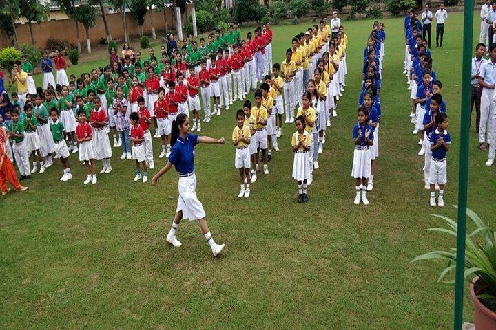 Arya Kamal Public School-Assembly